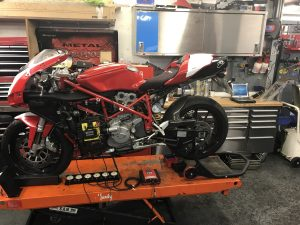Ducati 749 diagnostic traxden motorcycles