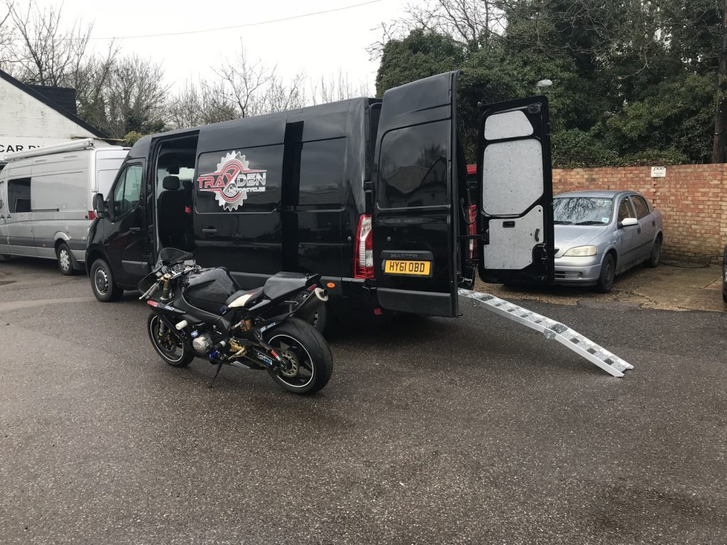 recovery service Traxden Motorcycles