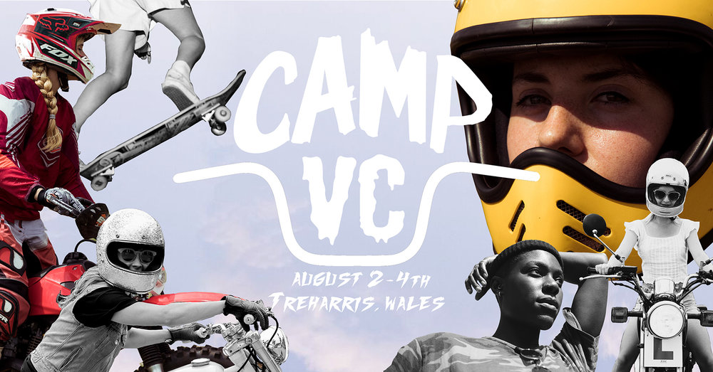 Motorcycle Events 2019 - Camp VC for ladies