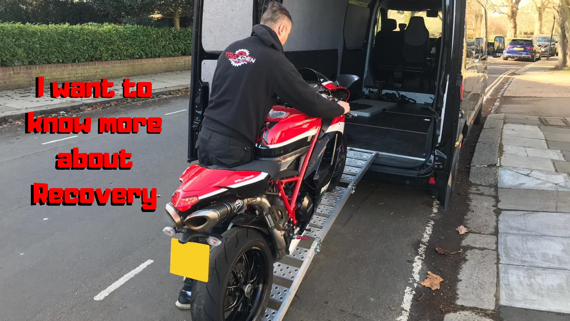 Motorcycle recovery services - in london